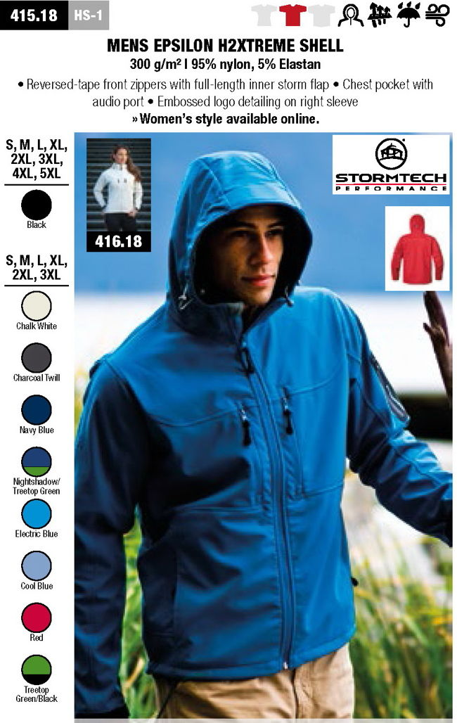 softshell jakna hoodie h2extreme