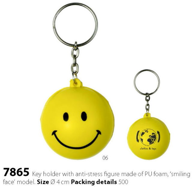 obesek Smiley antistress