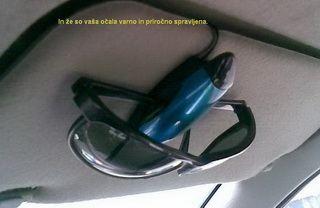 držalo nosilec za očala Praktičnost in enostavnost hrošča je zagotovilo, da ga bo obdarjenec uporabljal
